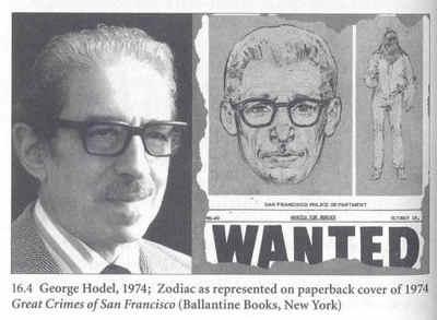 ... George Hodel was very similar to the Zodiac Killer facial sketch