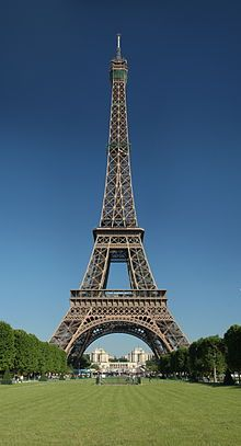 Tour Eiffel, Paris - as a young girl I went to Paris a couple of times to visit a relative and one of the attractions that stood out to me was the Eiffel tower.