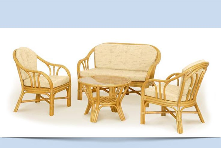 VEREYA Set – Natural Rattan Furniture