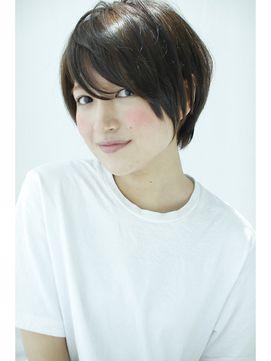 【GARDEN】宮崎えりな 2015黒髪でも大人可愛い簡単小顔ショート/GARDEN harajuku 【ガーデン ハラジュク】をご紹介。2016年冬の最新ヘアスタイルを20万点以上掲載!ミディアム、ショート、ボブなど豊富な条件でヘアスタイル・髪型・アレンジをチェック。