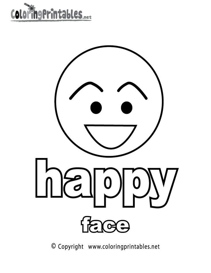 Learning adjectives quot Happy Face quot