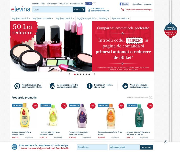 Shop online cosmetice