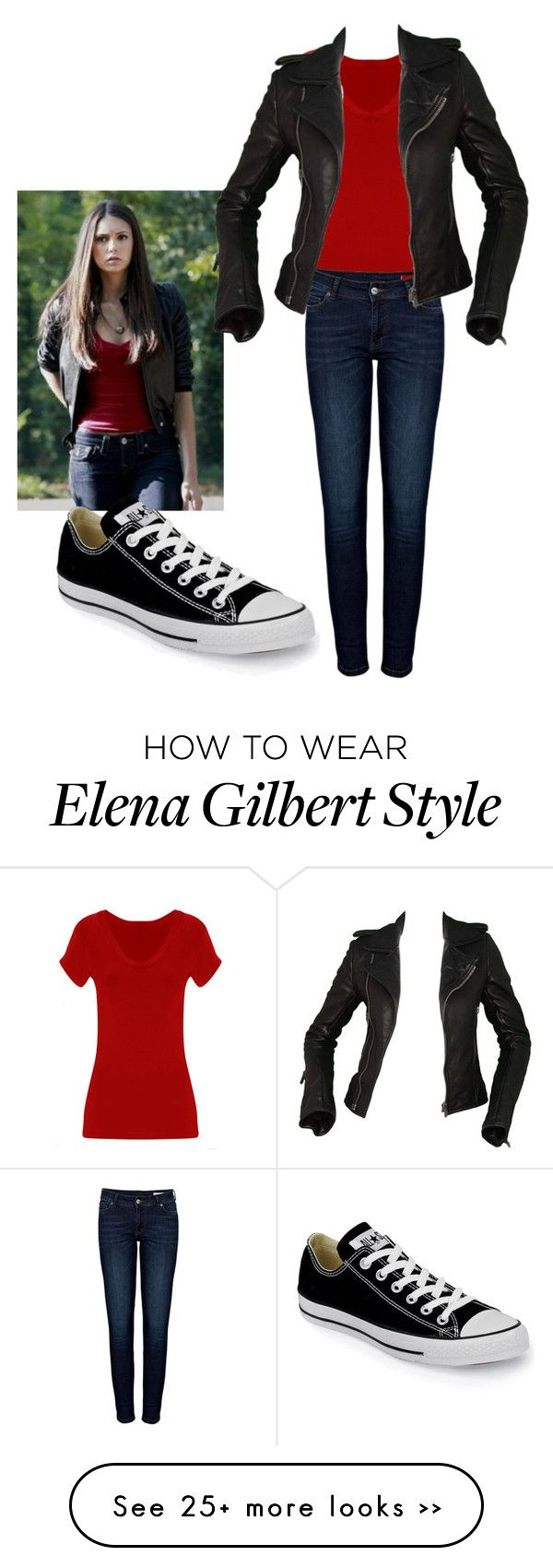 """Elena Gilbert Original"" by chocolatequeen518 on Polyvore"