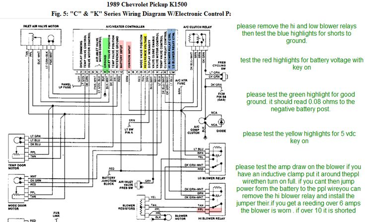 Image Result For Wiring Diagram For A 1993 Chevy Truck 4x4 Electrical Diagram Diagram Chevy