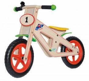 Rowerek biegowy Woodyland 93021