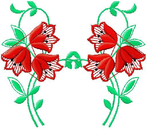 floral embroidery design free download