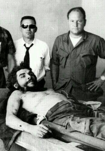 Che Guavara killed in Bolivia. 9 October 1967