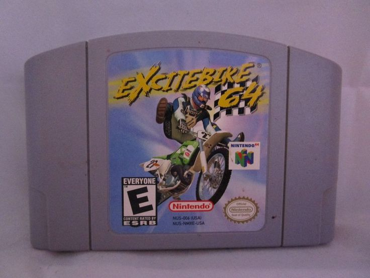 Excitebike 64 (Nintendo 64, 2000) Game Cartridge Only Rated E Very Good  #Nintendo