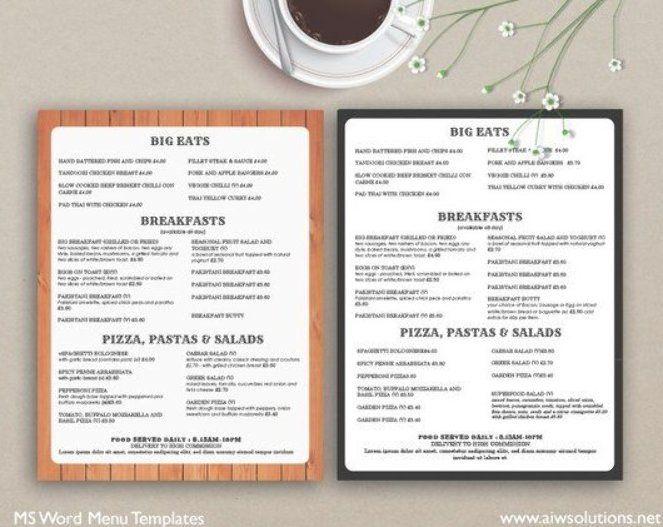 Food Menu Menus Design Takeout Menus Us Menu Restaurant Menus Menutemplates Restaurant Menu Ma Fast Food Menu Party Food Menu Menu Printing