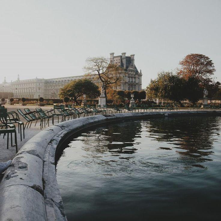 Les Jardins de Tuileries.