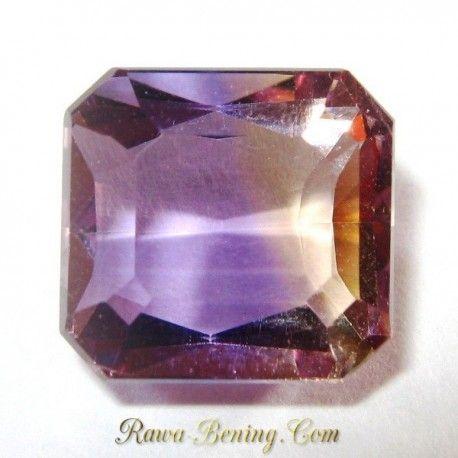 Batu Light Purple Yellow Ametrine 3.85 carat