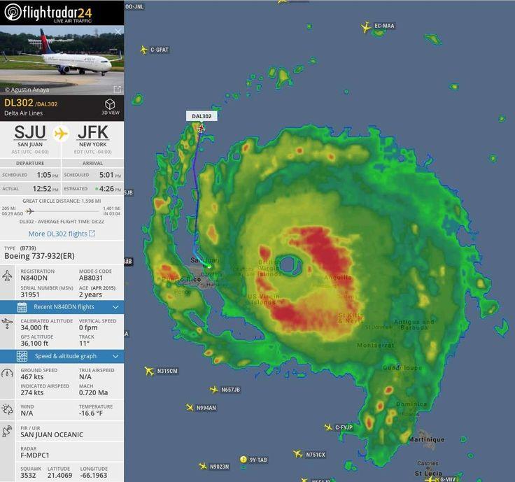Viral Avión de Delta Airlines se le escapa al huracán Irma dos veces - La Opinión (Comunicado de prensa)
