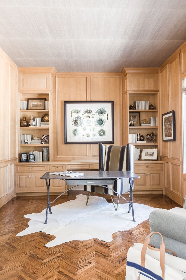 Phone room office space photos custom spaces - Warm Wood Tones In This Office Space Austin Bean Design Studio