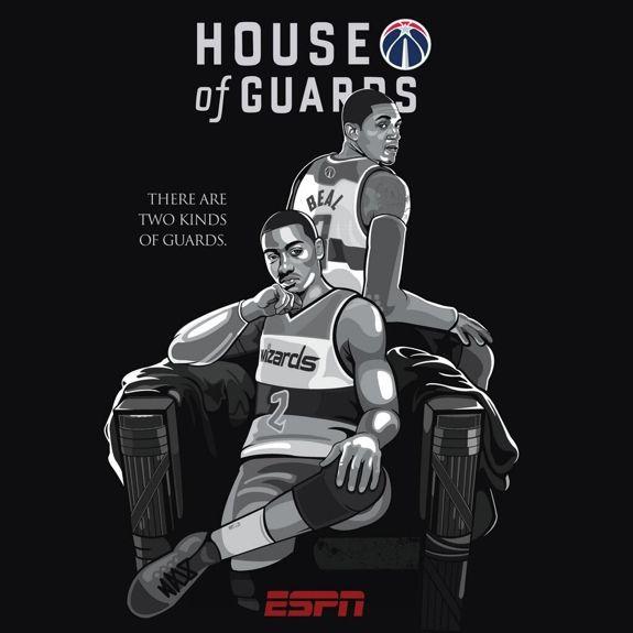 Washington Wizards 'House of Guards' Illustration