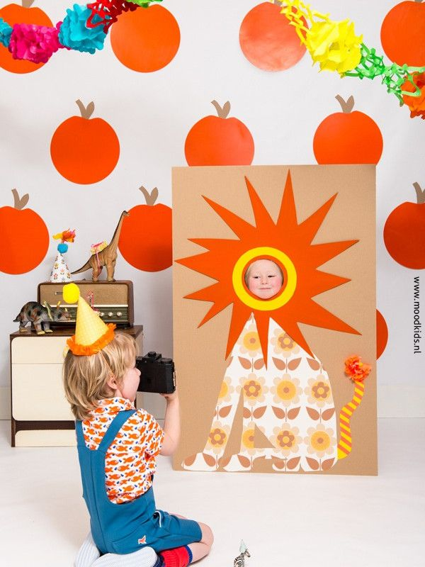Kids photobooth from Mood Kids