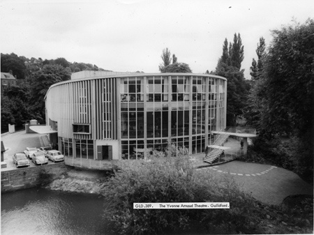 Back of Yvonne Arnaud Theatre, 1965