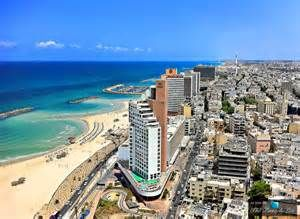 Government: This is a picture of one of the many capitols of Israel. It is considered the government capitol. It is located on the coast as shown in the picture. Israel is a parliamentary democracy. It has a parliament called the Knesset as well as a prime minister and president.