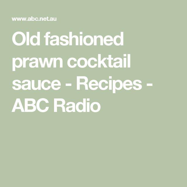 how to make prawn cocktail sauce ketchup