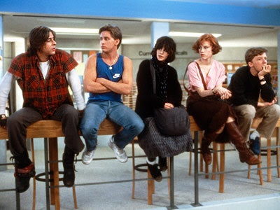 The Breakfast Club - They only met once, but it changed their lives forever.