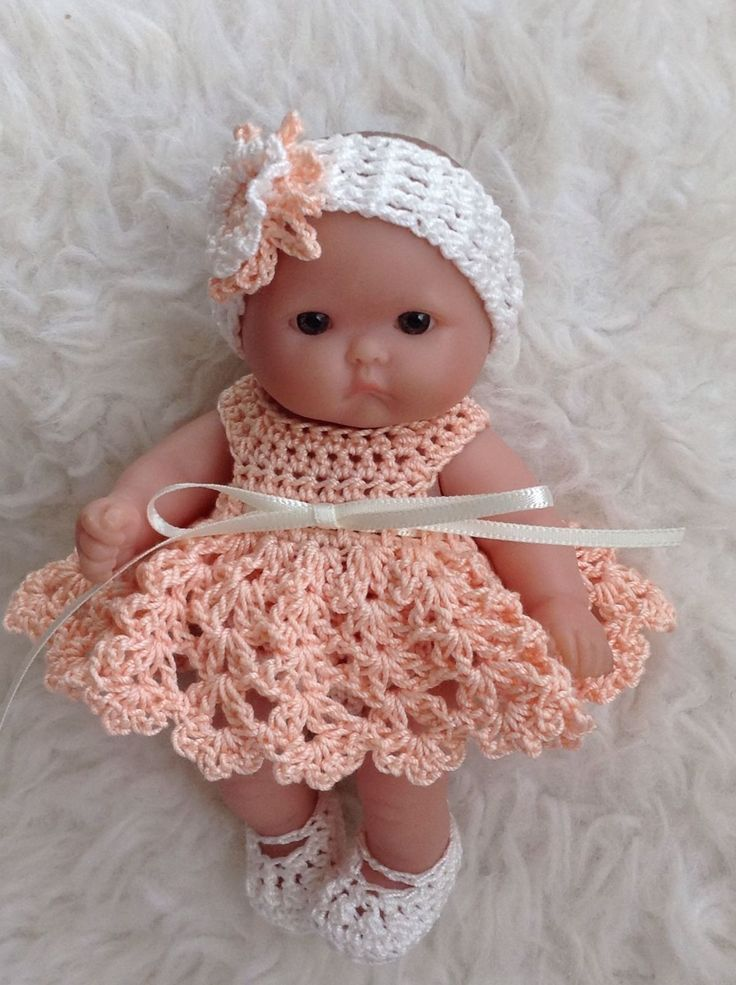 126 best Baby Dolls Clothing Crochet & Knit images on