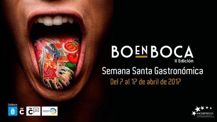 Ya puedes descargar los menús de la segunda edición de la #SemanaSanta Gastronómica de #ACoruña: #BoenBoca! » bit.ly/menuBOENBOCA2017 #saboreacoruña #visitacoruña