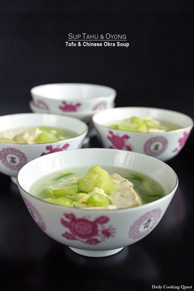 522 best curry soups images on pinterest asian recipes asian sup tahu dan oyong tofu and chinese okra soup daily cooking quest forumfinder Gallery