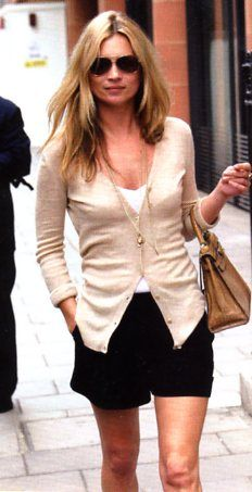 like this look with a simple cardi