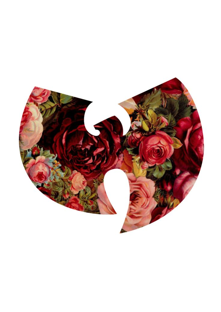 red flower flowers pattern logo rose wu tang roses wu tang clan wu flower pattern floreal pattern