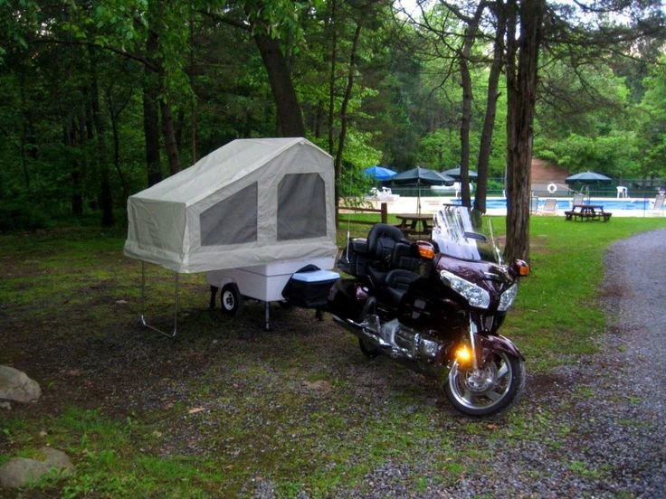 Best 25 Motorcycle tent trailer ideas on Pinterest Lightweight