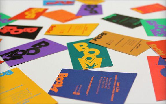Boom Logo and Identity © Blow (Sidney)