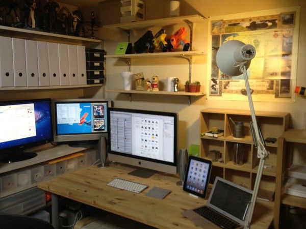 画像 : 達人に学ぶデスク周りの整理・収納術まとめ☆オフィス 雑貨 便利グッズ 小物 - NAVER まとめ