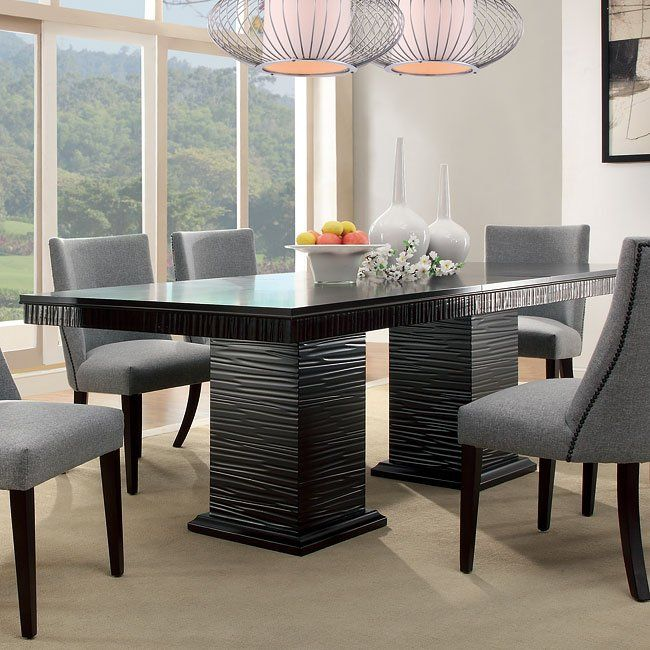 Design Elements From Traditional To Mid Century Modern Are Delicately Balanced In The Soph Cheap Dining Room Sets Dining Room Furniture Modern Dining Room Sets Chicago discount dining room furniture