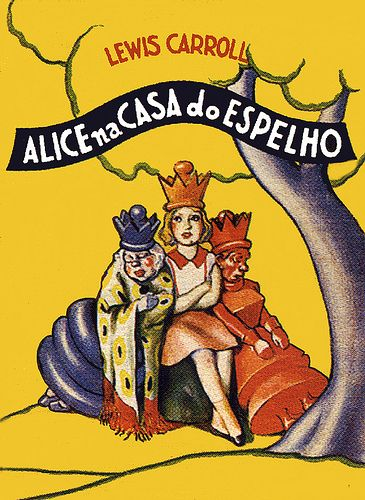 Alice na Casa do Espelho: Apirr Livejourn Com На, 3329045035 C44959De21, Alicia, Book, Wonderland Book, Reading Agnes Richardson, Sisters Reading Agnes, Marinni Vintage, Wonderland Illustration Alice