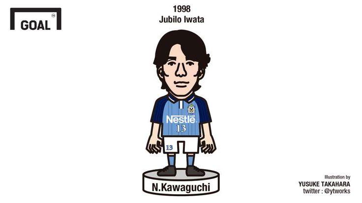 1998 | 川口信男 (ジュビロ磐田) | Nobuo Kawaguchi (Jubilo Iwata) - Goal.com