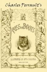 Capa de O Gato de Botas, um clássico da literatura infantil de Charles Perrault.