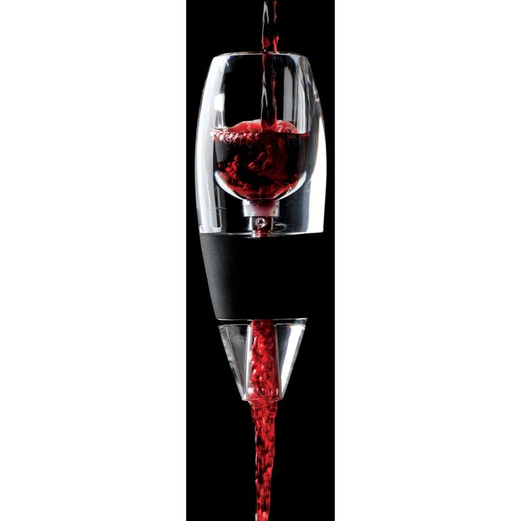 Vinturi Wine Aerator, the instant decanter.