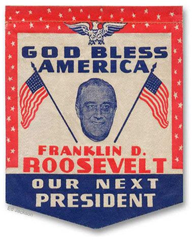 the influence of franklin d roosevelt in america Assuming the presidency at the depth of the great depression as our 32nd president (1933-1945), franklin d roosevelt helped the american people regain faith in themselves assuming the presidency .