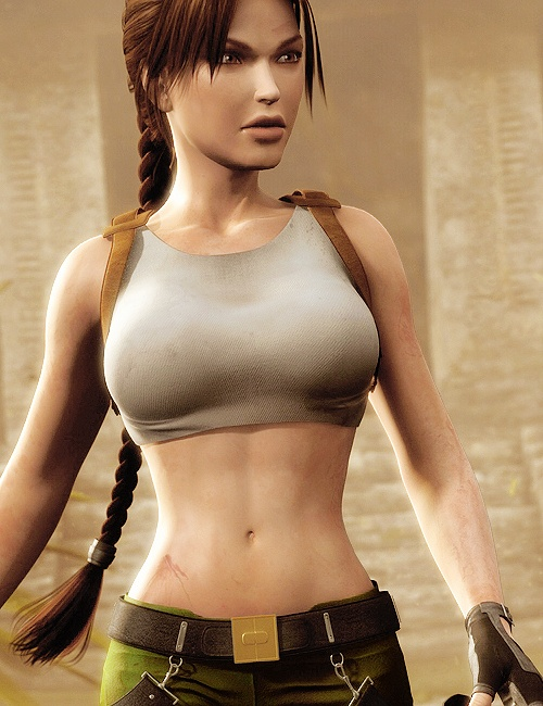 Lara Croft taught me that I don't have to depend on others. If I want something, it is up to me to make it happen.