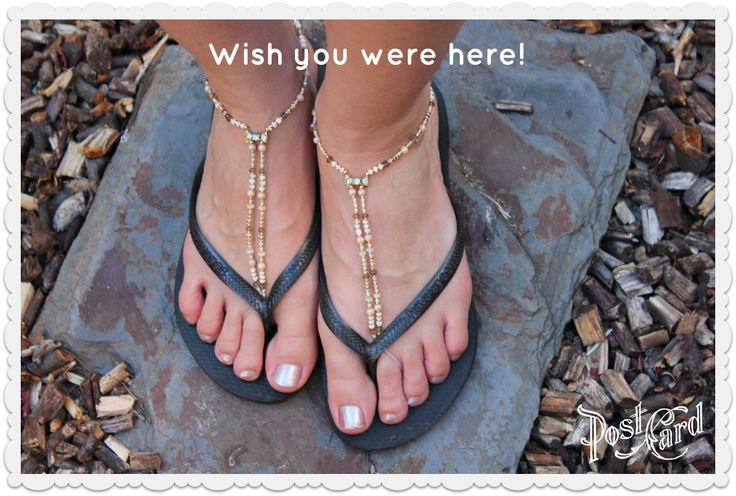 Lovely #Barefoot #Slinks on holiday with some #flipflops