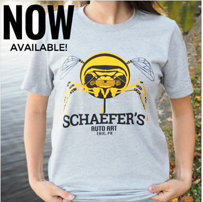 Schaefer's Auto Art T-Shirts Now Available at www.saaerieshop.com