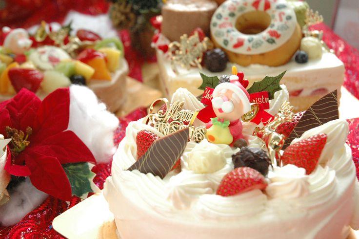 2014年 クリスマスケーキ 写真とPOP作成もお店で作ってます♪