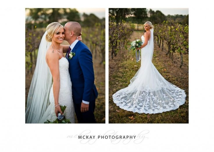 Ashlee and her stunning dress at Belgenny Farm wedding :)  #belgennyfarm #weddingdress #dresstrain #belgennyfarmwedding #wedding