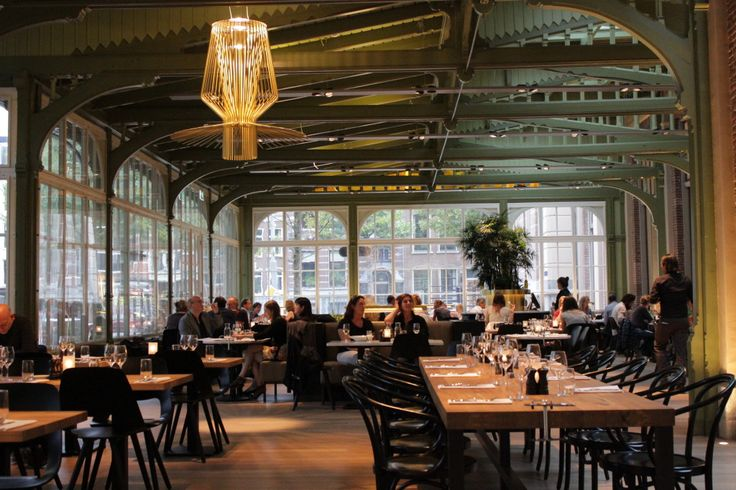 de Plantage - Amsterdam; Love the combination of green, gold, marble and concrete! Excellent light schedule.