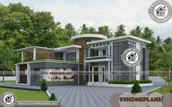 Kerala Home New Model Plans 85 2 Story Narrow House Plans Free Model House Plan Narrow House Plans New House Plans