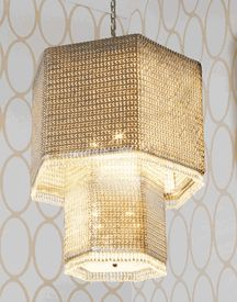 """Signature Collection: Special Order Design: Grand  30"""" Dia  Swarovski Crystal Cascade Chandelier * Pricing By Quotation"""