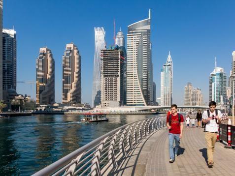 Dubai - Marina negyed - PROAKTIVdirekt Életmód magazin és hírek - proaktivdirekt.com
