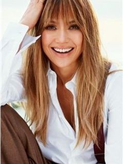 New Fashion Jennifer Lopez Natural Hairstyle Long Straight 100% Real Human Hair Wig about 20 Inches