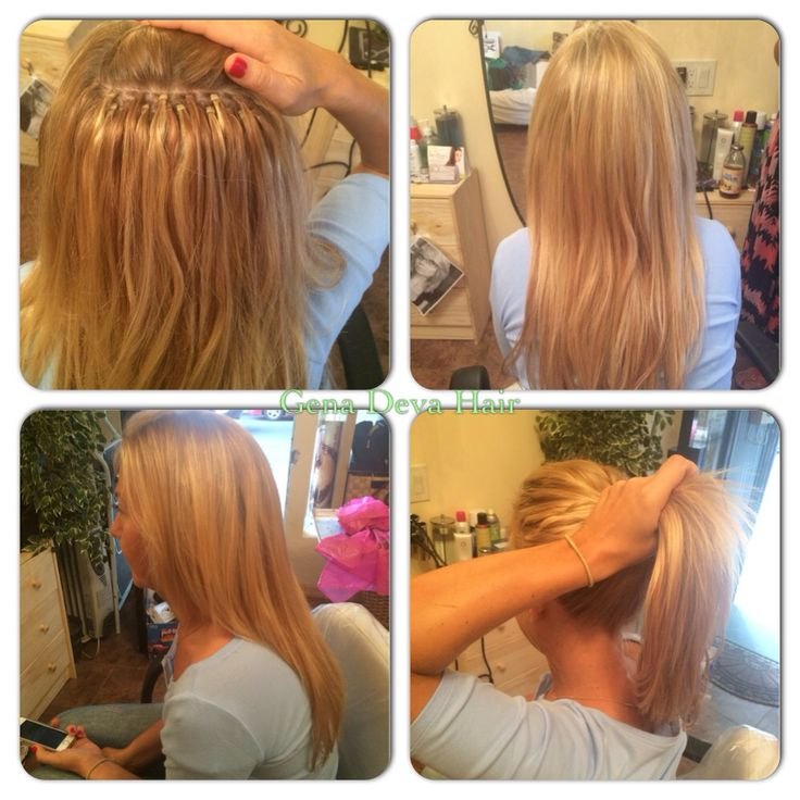Braidless Weave By Kim Lloyd Organic Salon Gena Deva Hair Hair