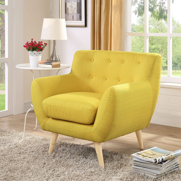 Remark Armchair in Sunny Home Living RoomLiving