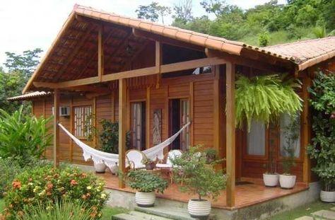 Investir em uma casa pr fabricada de madeira pinteres - Mini casas prefabricadas ...